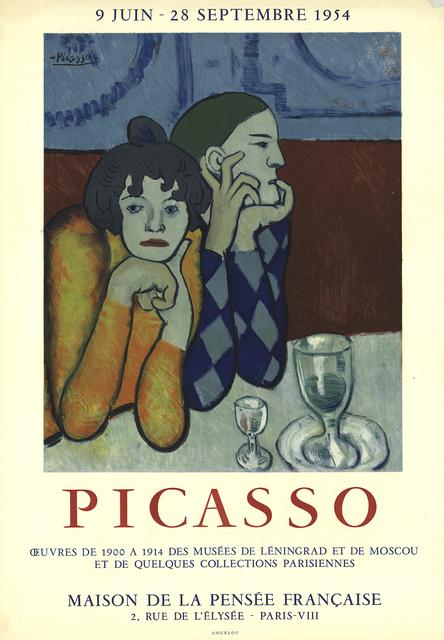 Pablo Picasso, 'Maison de la Pensee Francaise', 1954, ArtWise