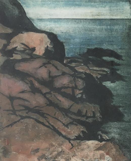 , 'Rocks & Sea,' Late 20th c., Bakker Gallery