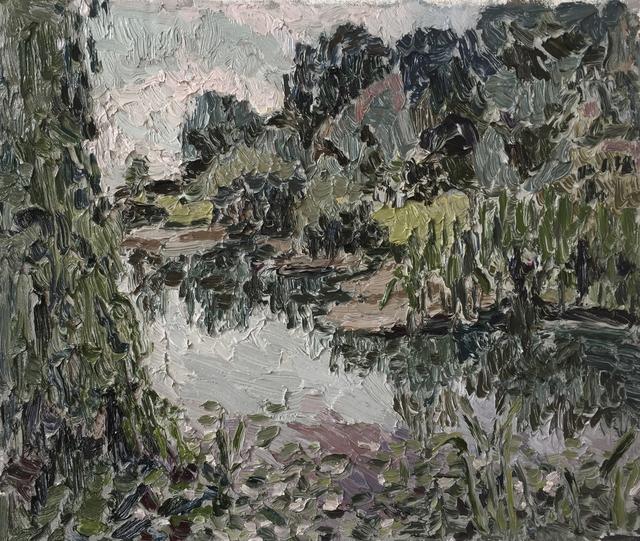 Mia Chaplin, 'Lake at Nirox', 2017, WHATIFTHEWORLD