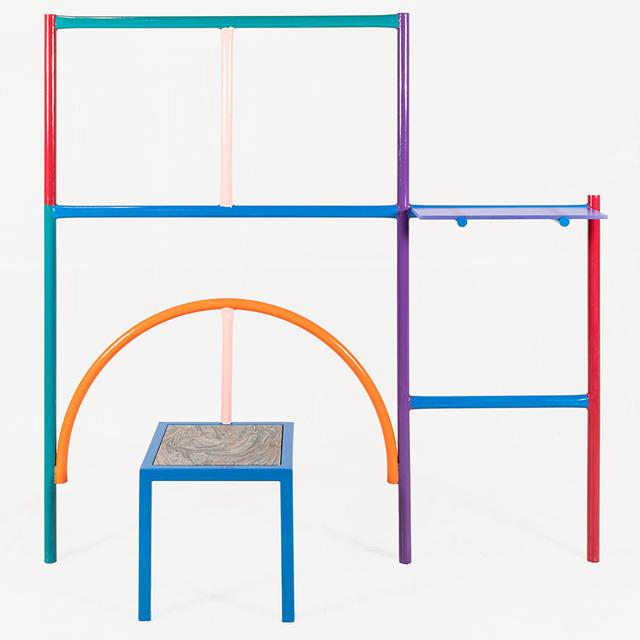 , 'Przemek Pyszczek, Wall Mounted Shelf with Seat, 2019,' 2019, Todd Merrill Studio