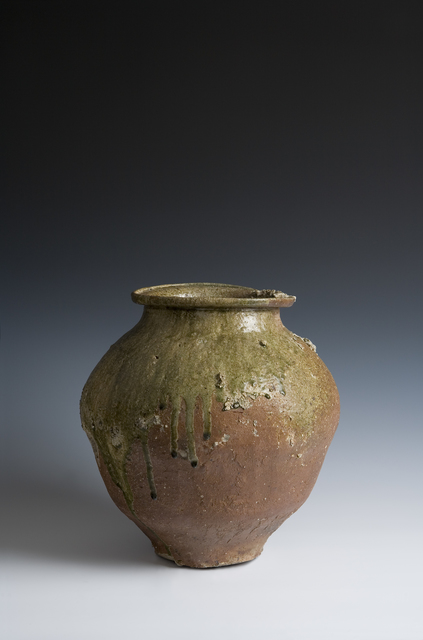 Unknown, 'Tokoname Sutra Repository Jar (T-3203-1)', Kamakura period (1185, 1333), 13th century, Erik Thomsen
