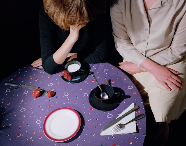 , 'Purple Tablecloth,' 1979, ROSEGALLERY