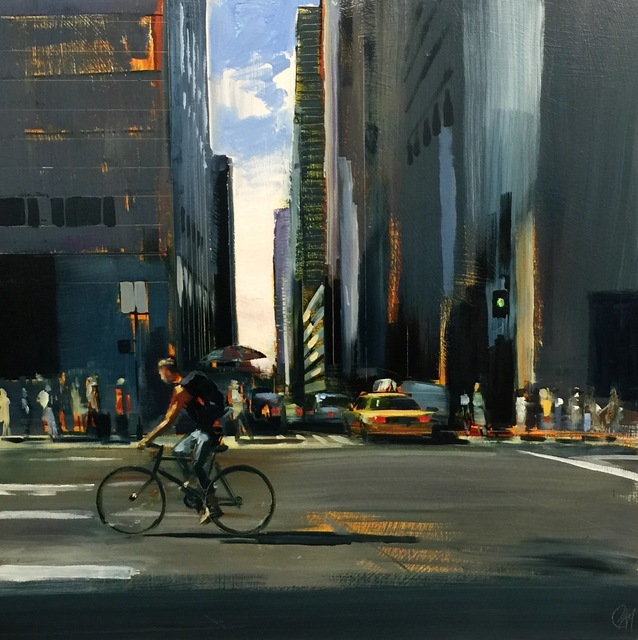 , 'Downtown Glide,' 2016, Sue Greenwood Fine Art