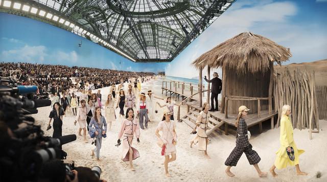 , 'Chanel Beach, Spring/Summer 2019, Le Grand Palais, Paris ,' 2018, Rosenbaum Contemporary
