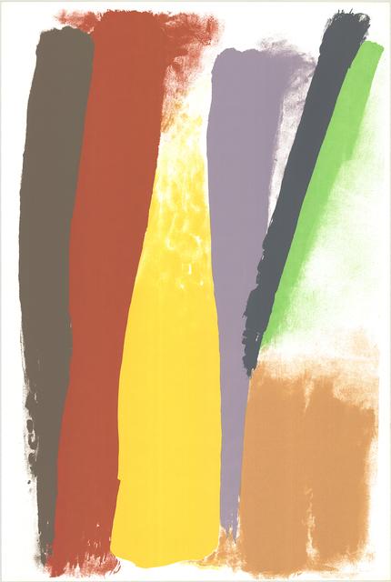Friedel Dzubas, 'Untitled (Community Holiday Festival)', 1973, ArtWise