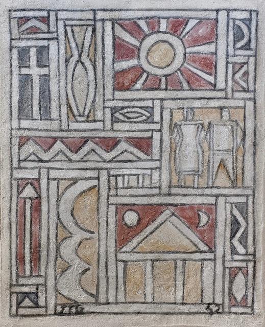 , 'Constructive Fresco,' 1942, Galería de las Misiones