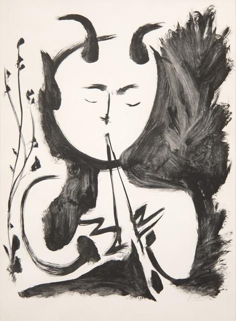 Pablo Picasso, 'Faune Musicien No. 4', 1948, Heather James Fine Art