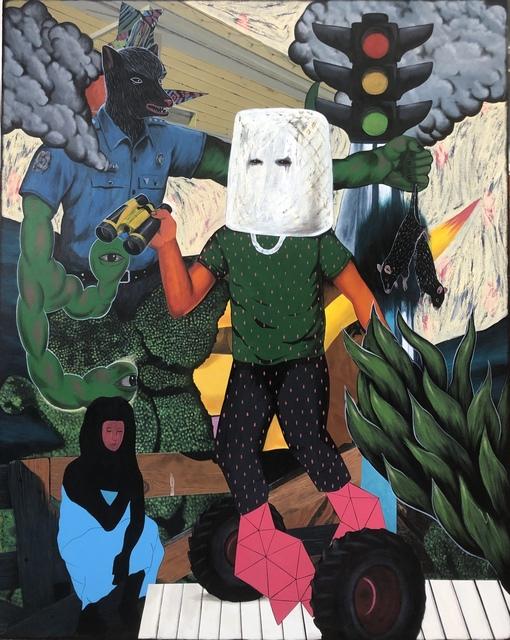 , 'The Hooded Witness,' 2019, A3 Arndt Art Agency