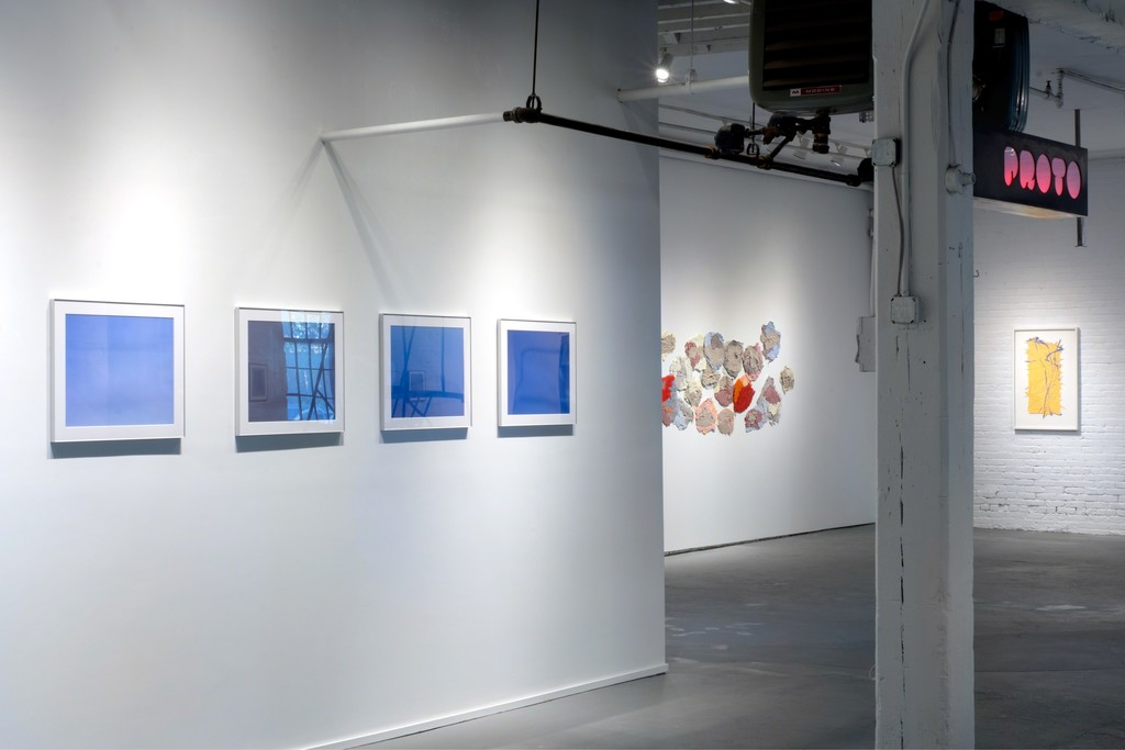 Photographs by Francois Ilnseher and works on paper by Sheila Crider and Sanda Iliescu at PROTO Gallery.