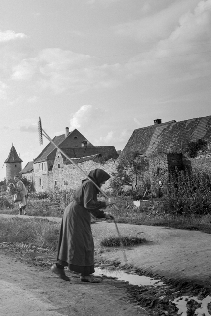 , 'Woman back from the fields, Germany, 1948,' , Monroe Gallery of Photography
