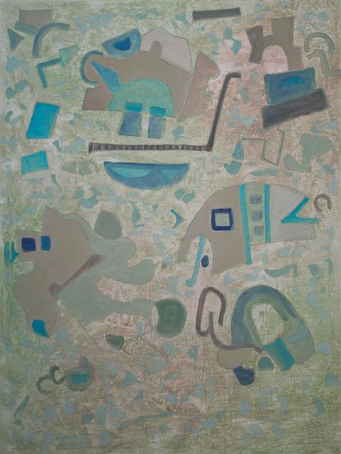 , 'Borrowing from Myself II,' 2013, Walter Wickiser Gallery