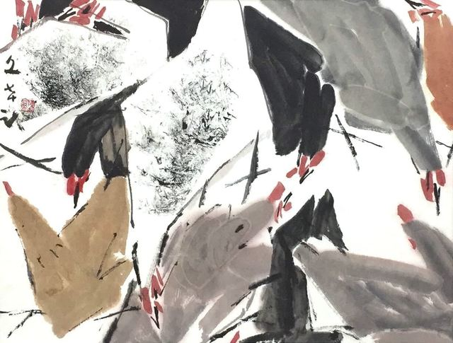 , 'Geese,' 1985, Element Art Space