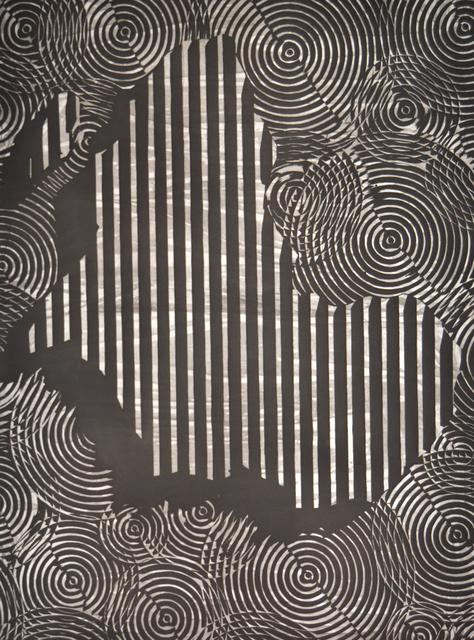 , 'Mapa frente al espejo (África),' 2016, Galería La Caja Negra