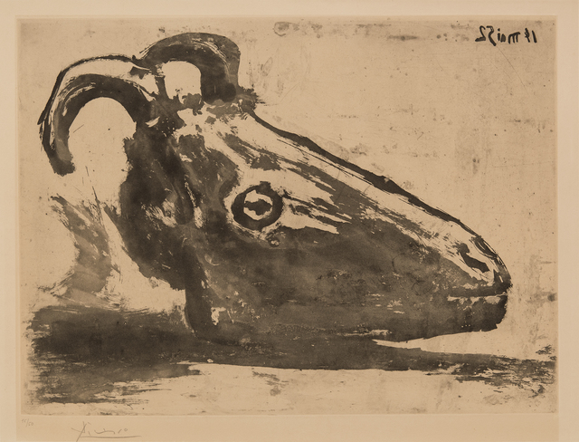 , 'Goat's Head,' 1952, Hollis Taggart Galleries