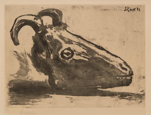 , 'Goat's Head,' 1952, Hollis Taggart