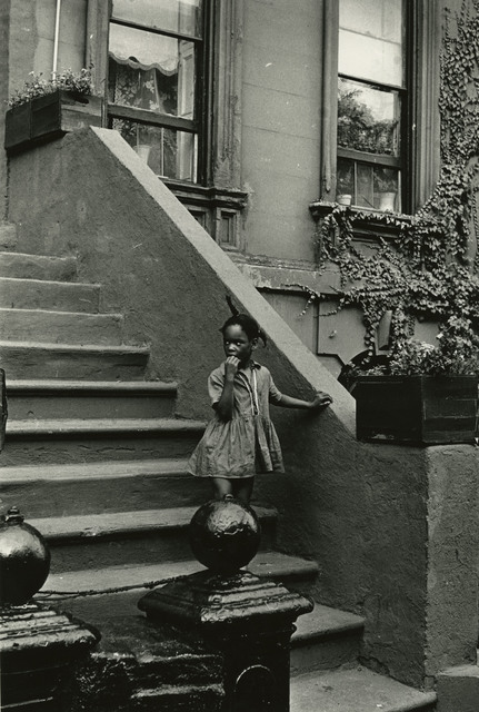 , 'Girl on Steps of Building with Ivy, New York,' 1965, Steven Kasher Gallery
