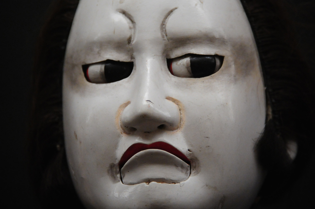 ", '""Iwafuji"" Spirited face of wooden puppet,' 1991-1993, Photo Gallery Artisan"