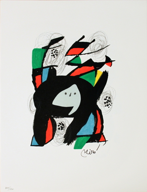 Joan Miró, 'Untitled from La Melodie Acide XII', 1980, ArtWise