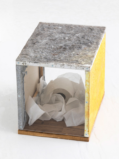 , 'YT Trash Triptych (Healthy Bowel Movement Stool /Ottoman),' 2015-2017, Fisher Parrish Gallery
