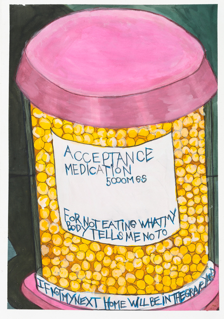 , 'Acceptance Medication,' 2013, Creativity Explored