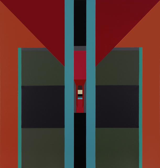 , 'Acrylic No. 1,' 2012, Leon Tovar Gallery