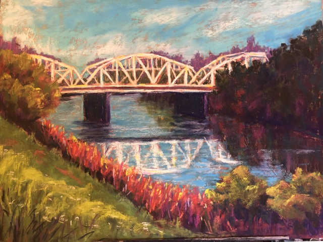 Kelsey Burke, 'Ladybird Bridge', 2018, Tim Collom Gallery