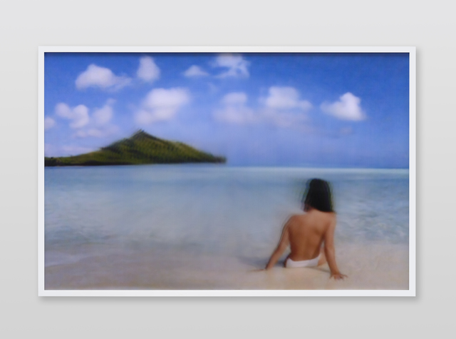 , 'Jennifer in Paradise, Distort_Pinch_-100, CS6 lenticular series,' 2015, Future Gallery