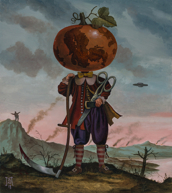 Mike Davis, 'The Orange Menace', 2018, Hashimoto Contemporary