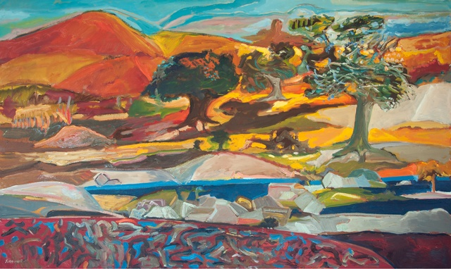 , 'Northern Mountain 1741,' 2017, Gallery Jones