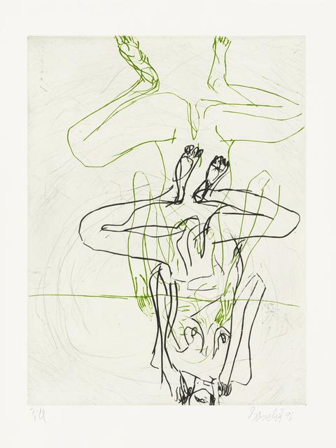 Georg Baselitz, 'Doppelakt', 1997, Galerie Boisseree