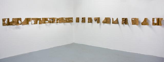 , 'Leftovers,' 2017, Galleri Urbane