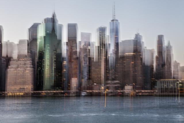 , 'New York Dream 13,' 2017-2018, Artistics