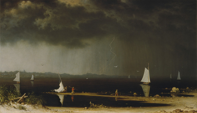 , 'Thunder Storm on Narragansett Bay,' 1868, Amon Carter Museum of American Art