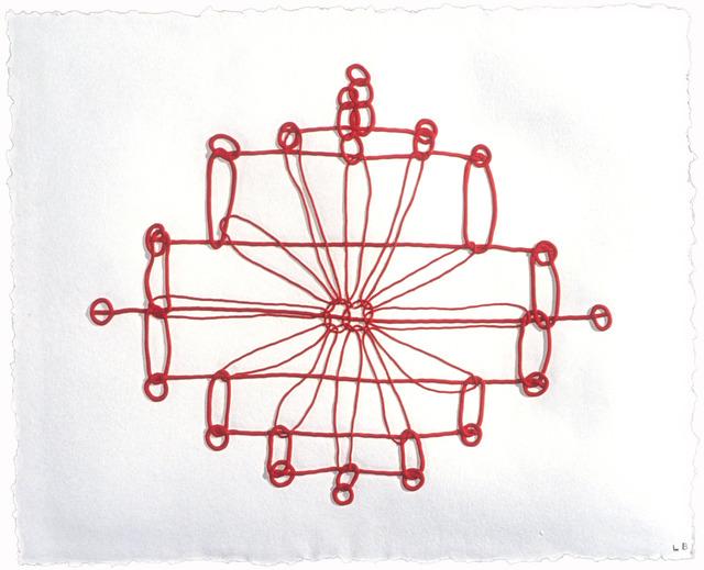 , 'Crochet II,' 1998, Mixografia