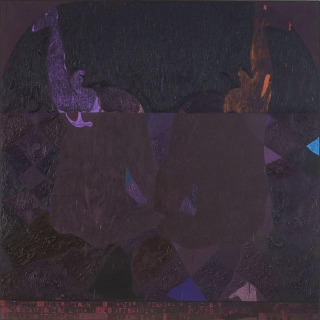 , 'Square Painting 7,' 2017, Galerie Kornfeld