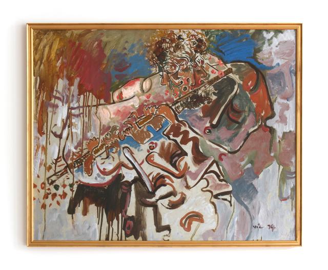 , 'Untitled (Flutist),' 1974, HARPY