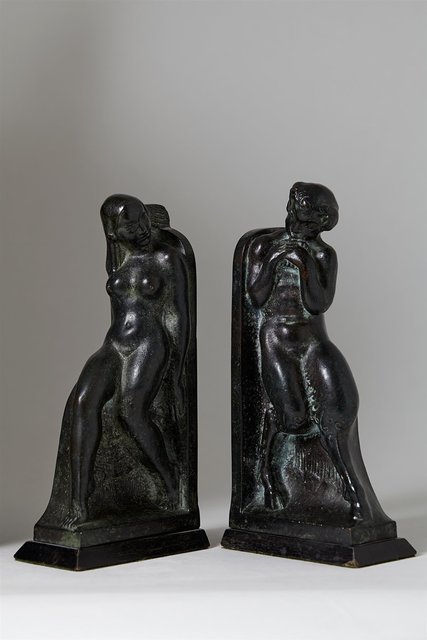, 'Pair of bookends,' 1919, Modernity