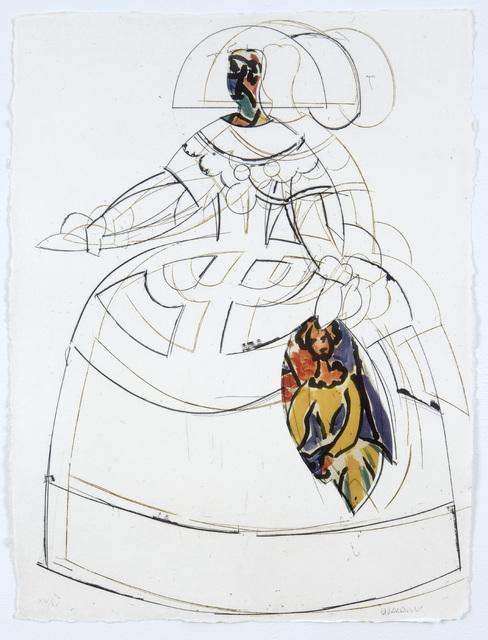 , 'Las Meninas VIII,' 2000, Marlborough Gallery