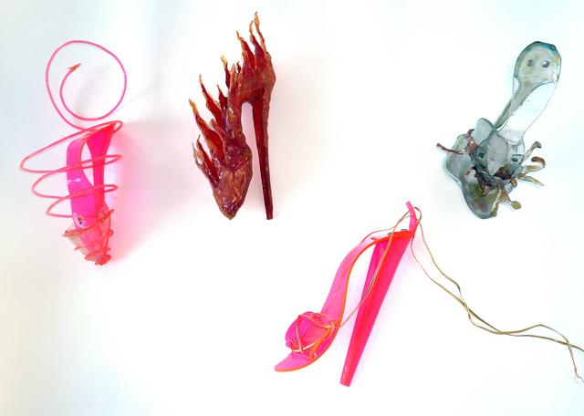 , 'Shoe Sculpture 1-4,' 1977, El Museo del Barrio