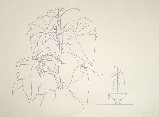 Derrick Greaves, 'Flower pot and fountain and Ten Flowerpieces', 1970, Print, Screenprints in colours, two, Roseberys