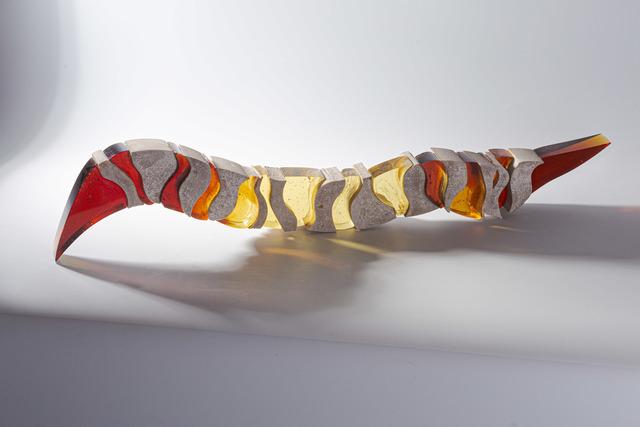 Zuzana Kubelková, 'Tremors', 2019, Sculpture, Kiln-cast glass, cut, Galerie Kuzebauch