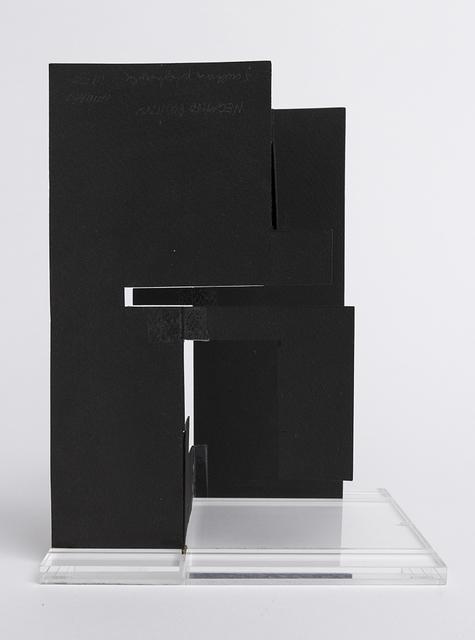 , 'Negativo-positivo a tre dimensioni - scultura piegevole,' 1955, Repetto Gallery