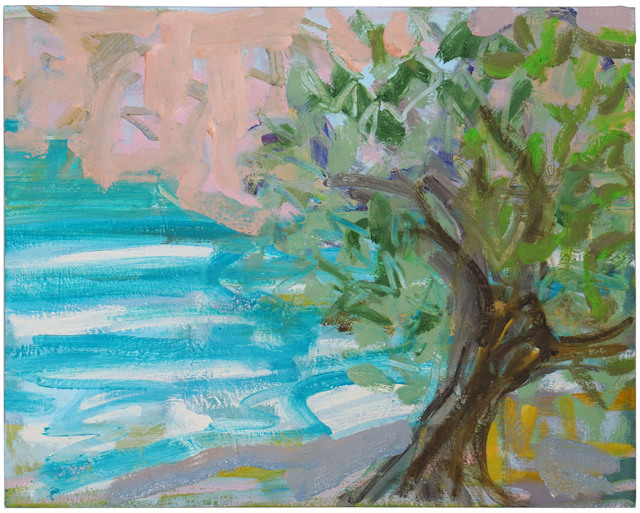 Margaret Tsirantonakis, 'Olive Tree by the Sea', 2018, Prince Street Gallery