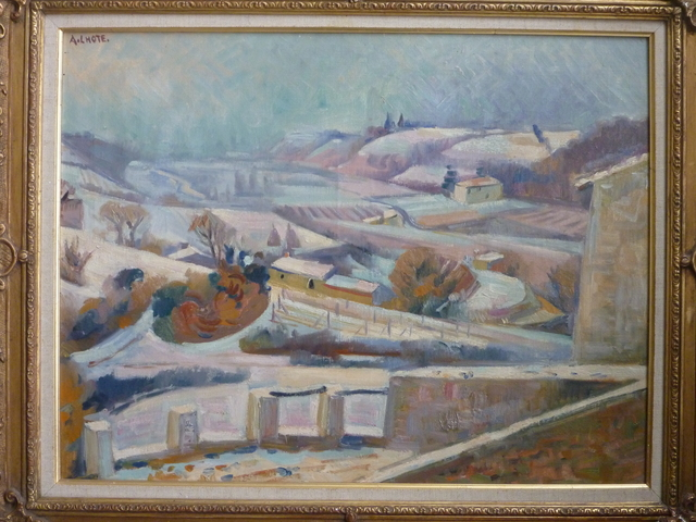 , 'Miramande Sous La Neige/ Miramande under Snow,' ca. 1933, Gilden's Art Gallery