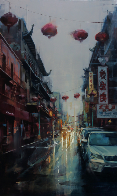 , 'Reflections of Chinatown,' 2018, Abend Gallery