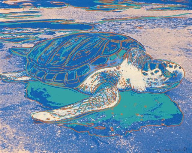 Andy Warhol, 'Turtle', 1985, Zeit Contemporary Art