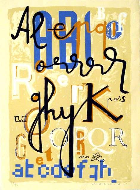 , 'Tipografia II,' , Sala Parés - Galería Trama