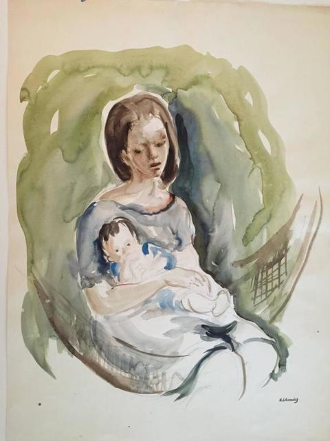 Katherine Librowicz, 'Mother with Child', 20th Century, Lions Gallery