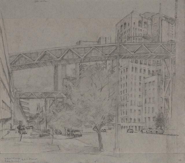 , 'Overhead Passageways at Columbia Presbyterian (I),' 2012, Betty Cuningham