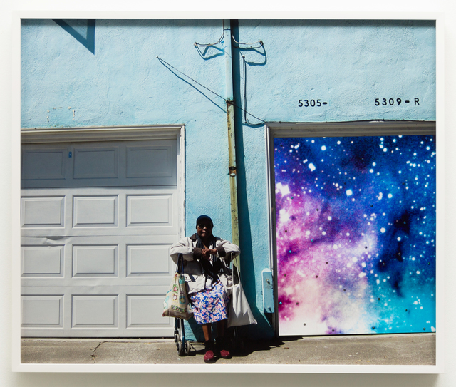 , 'Untitled (Oakland lady, space),' 2019, Charlie James Gallery